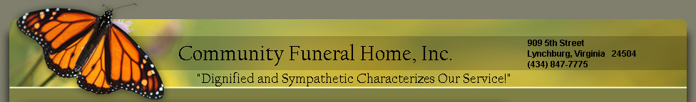 Community Funeral Home, Inc.